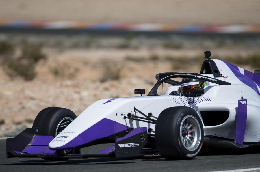 W Series Formula 3 car - front