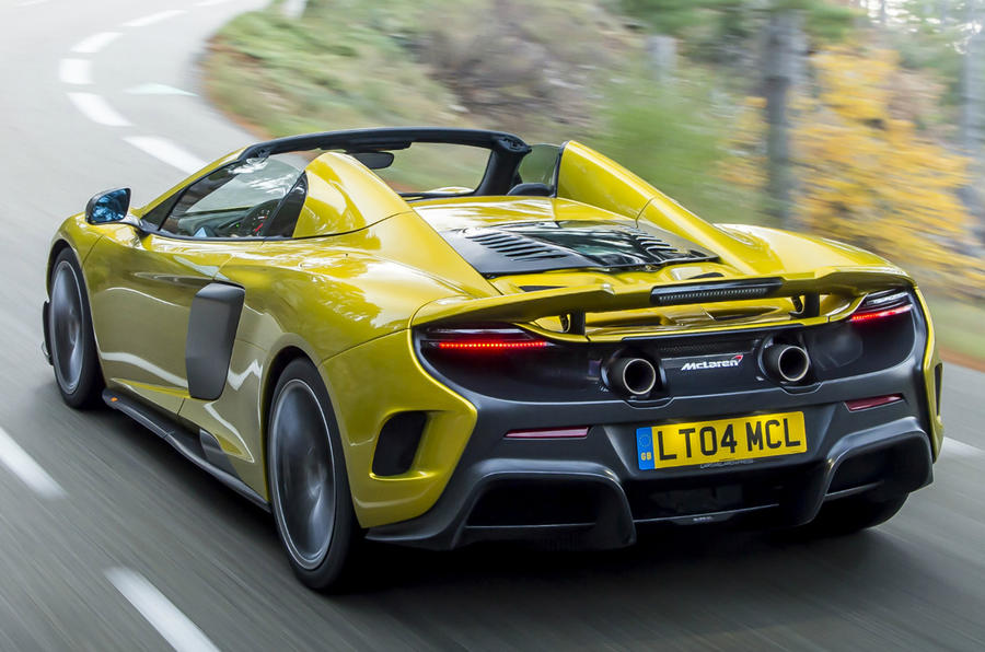 Mclaren 675lt Spider Sells Out Plus New Track Video
