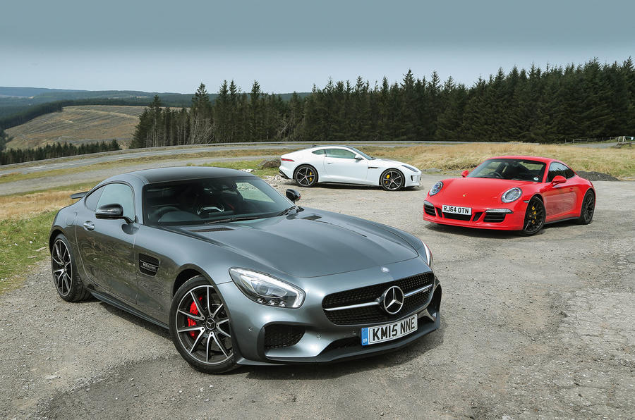 Jaguar Svr >> Mercedes-AMG GT S vs Porsche 911 GTS and Jaguar F-Type R | Autocar