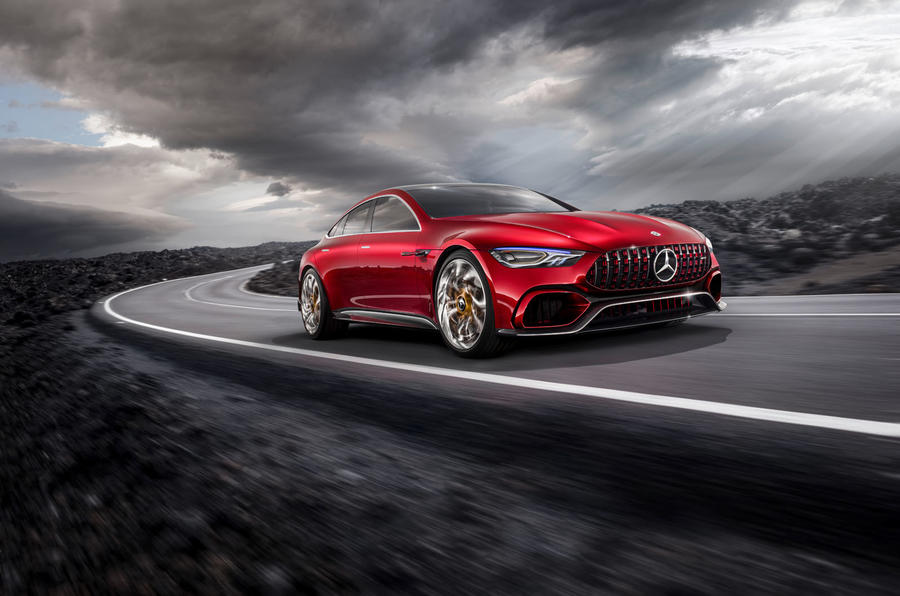 New Mercedes Amg Gt Concept To Make Production In 2019