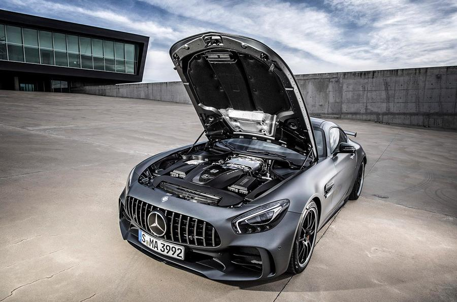 2017 mercedes amg gt r review pictures auto express for Mercedes benz gtr amg 2017 price