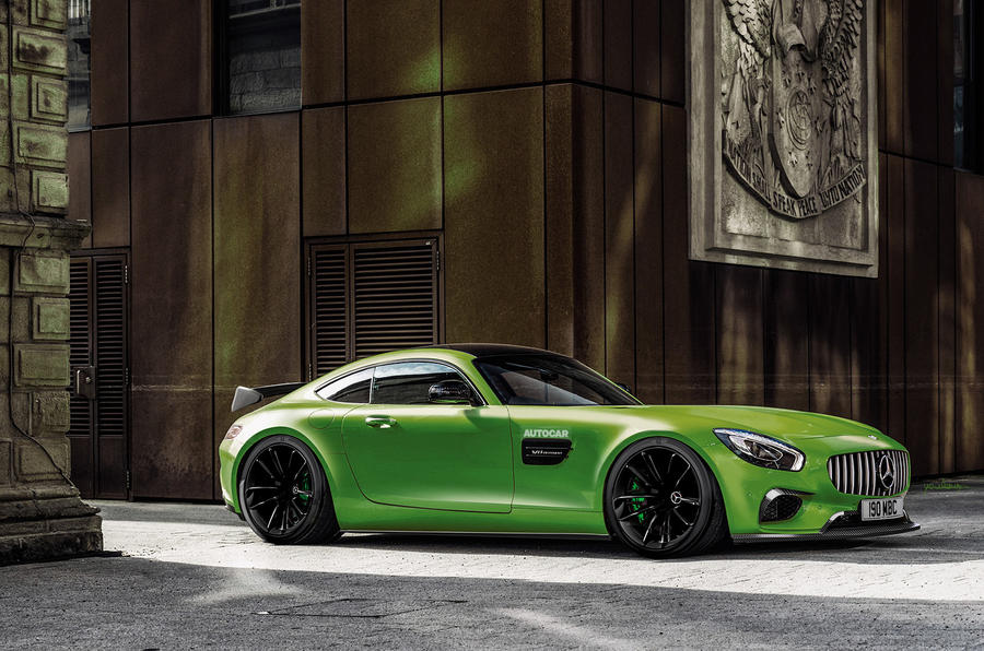 mercedes amg gt r teased on video ahead of goodwood autocar. Black Bedroom Furniture Sets. Home Design Ideas