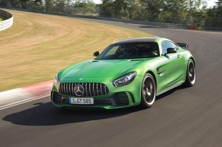 Mercedes Amg Gt R To Challenge Porsche  Turbo S Nurburgring Time Autocar