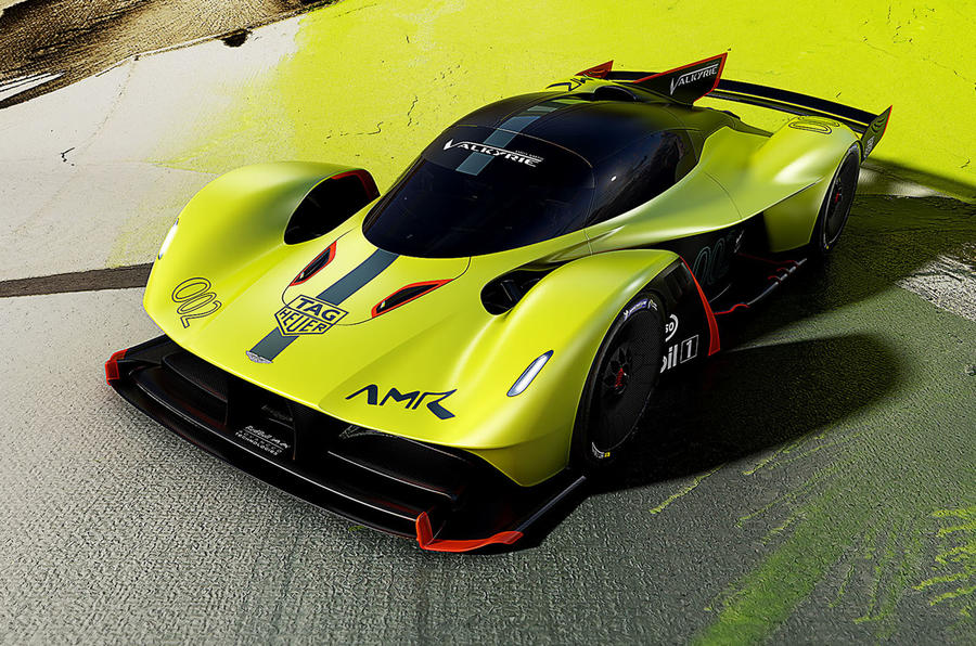 Aston Martin AMR Valkyrie Pro Launched At Geneva