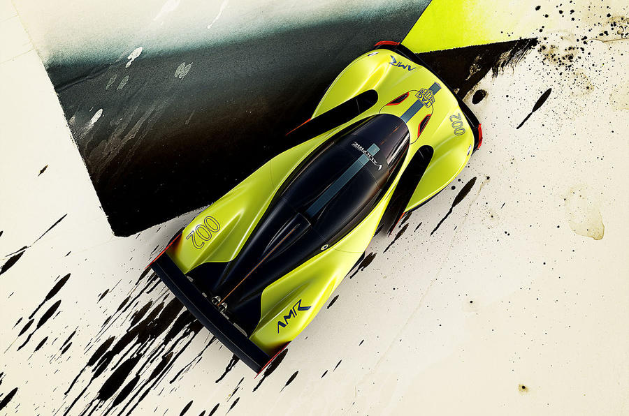 Aston Martin Valkyrie AMR Pro makes world debut at Geneva Show