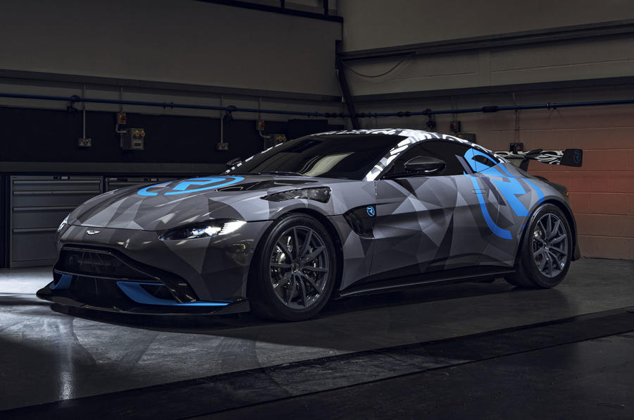 Aston Martin launches new one-make racing series