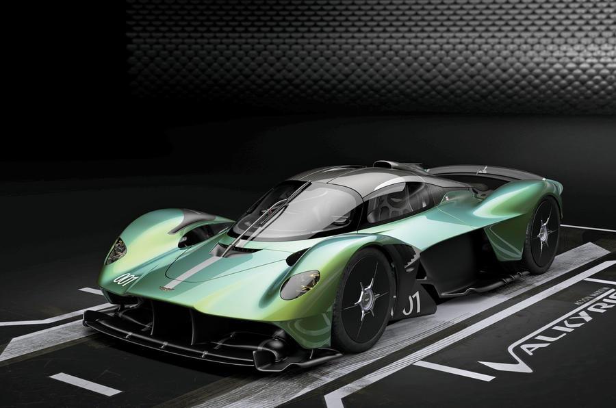New Aston Martin Valkyrie Gets Track Focused Bodywork Option