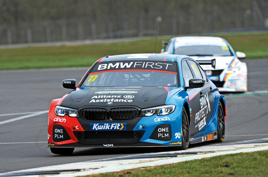 Andrew Jordan BMW race car
