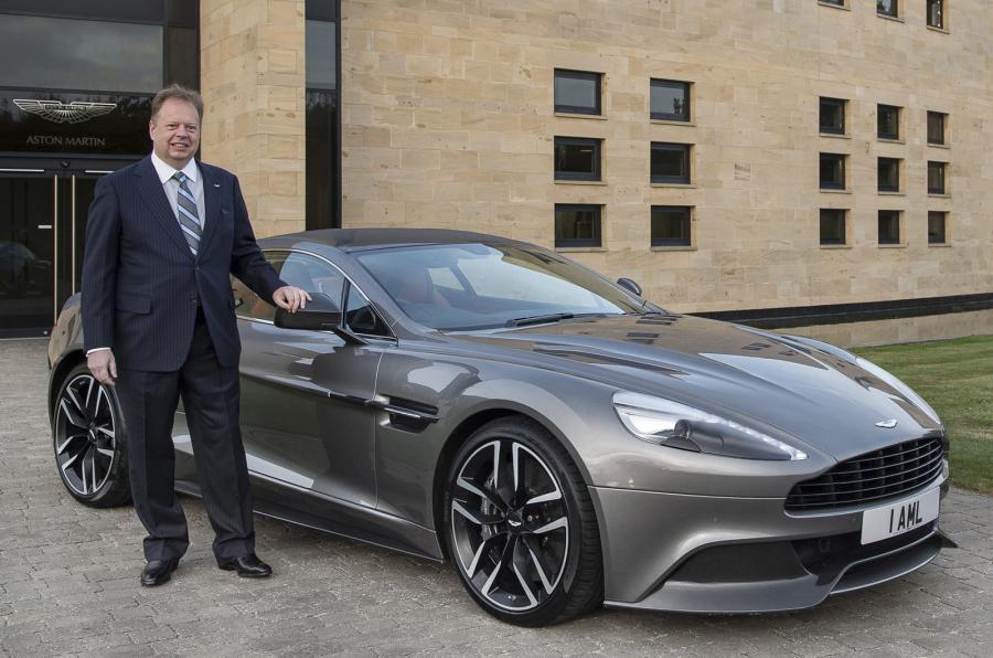 Aston Martin's Andy Palmer