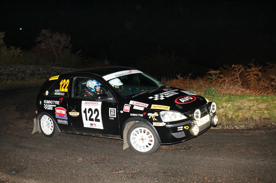 Conquering the challenge of the Mull Rally in a Vauxhall Corsa | Autocar