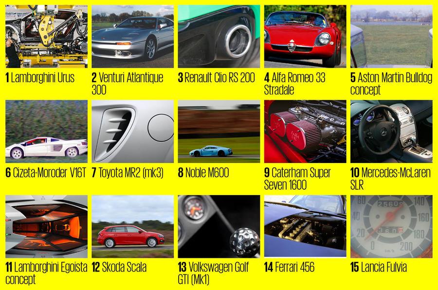 Autocar's name that car quiz - medium - answers
