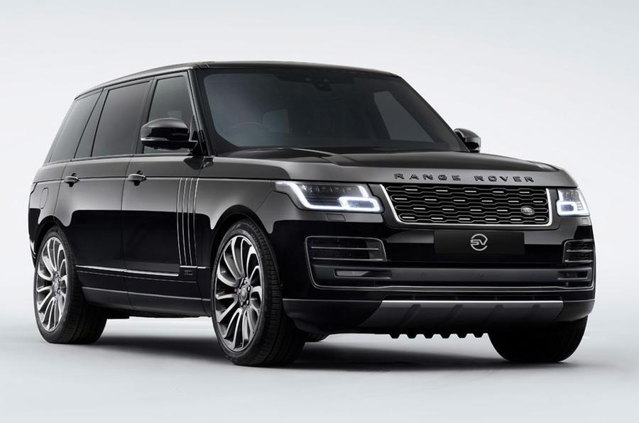 Anthony Joshua Range Rover 2020 - static front