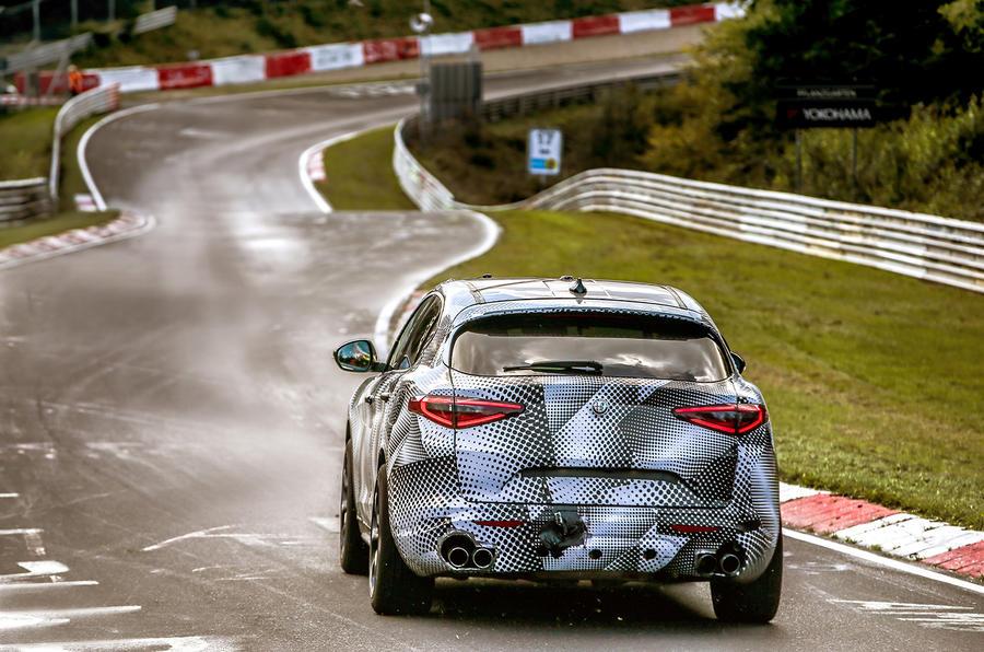 Alfa Romeo Stelvio Quadrifoglio breaks Nürburgring SUV lap record