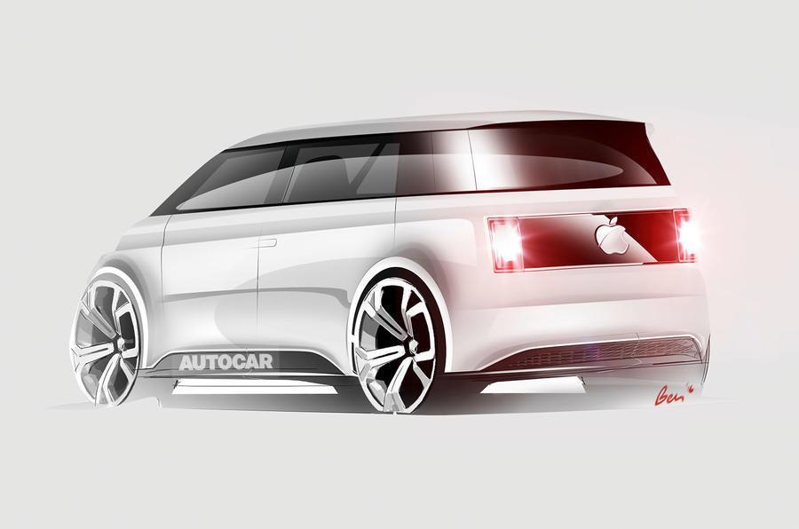 Apple car, imagined by Autocar