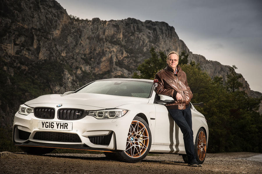 Rally legend Ari Vatanen takes a BMW M4 GTS for a spin