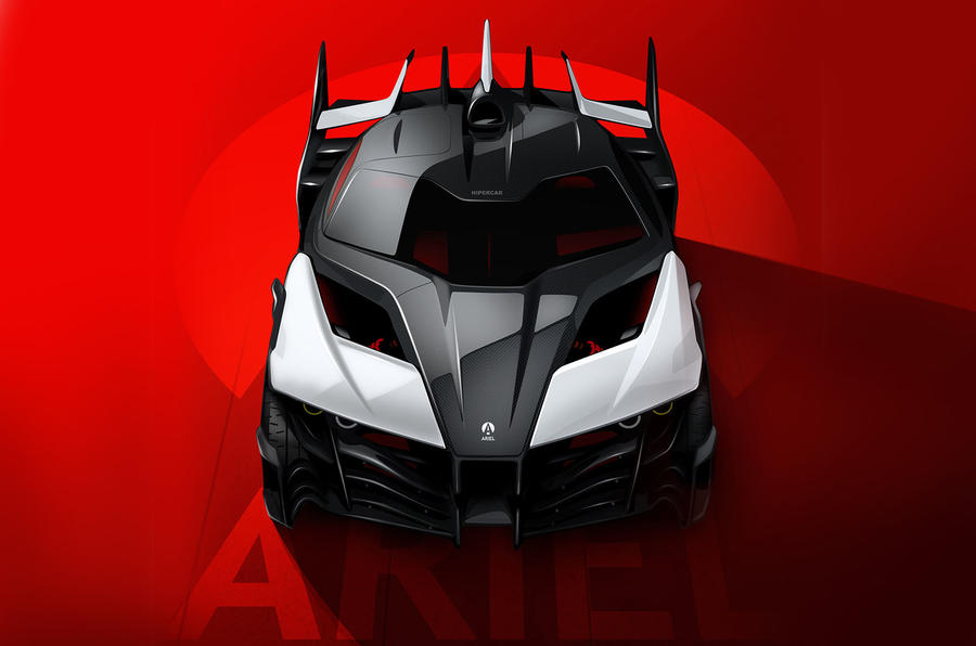 Ariel P40 supercar project