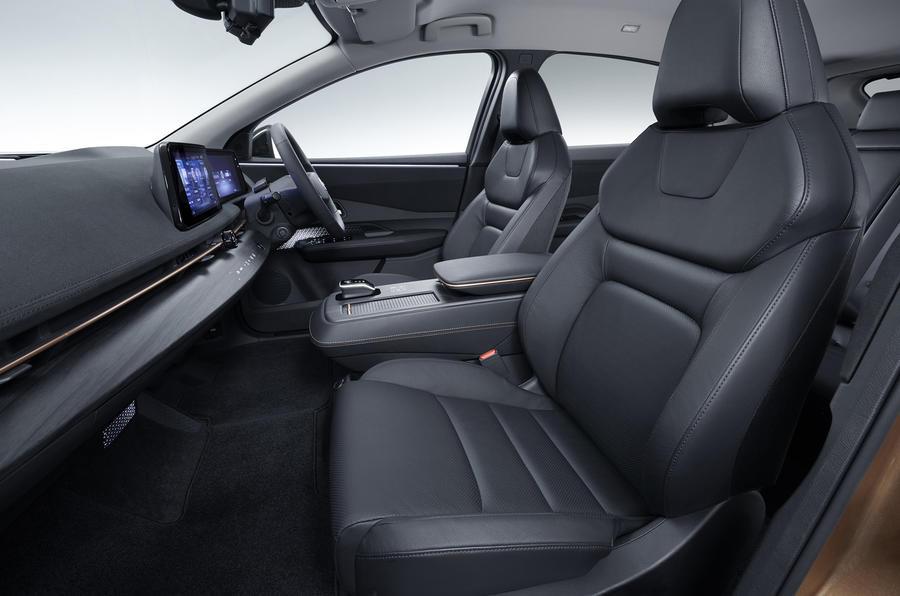 2020 Nissan Ariya - front seats