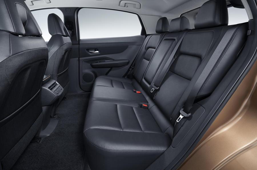 2020 Nissan Ariya - rear seats