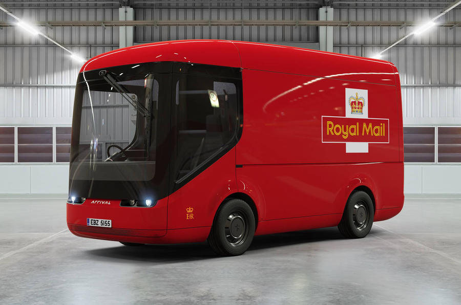 Arrival electric van - Royal Mail