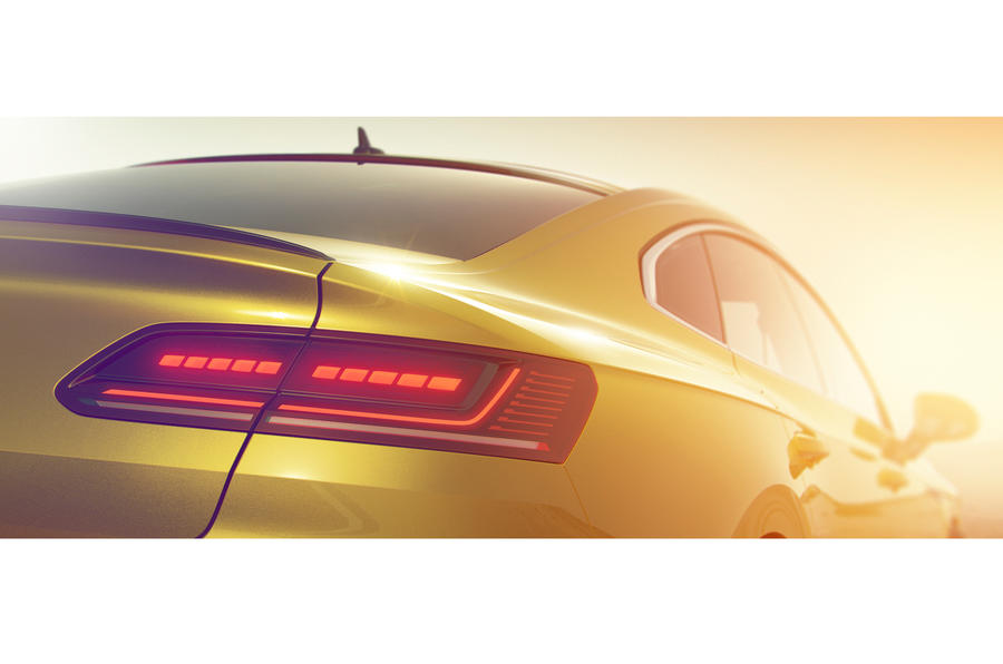 Volkswagen Arteon design previewed ahead of Geneva