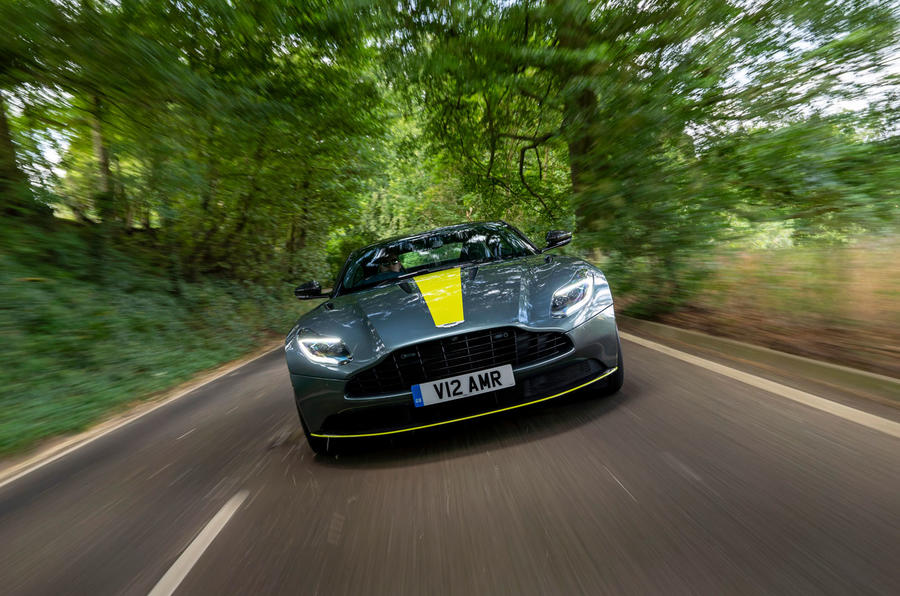 Aston Martin DB11 UK first drive front