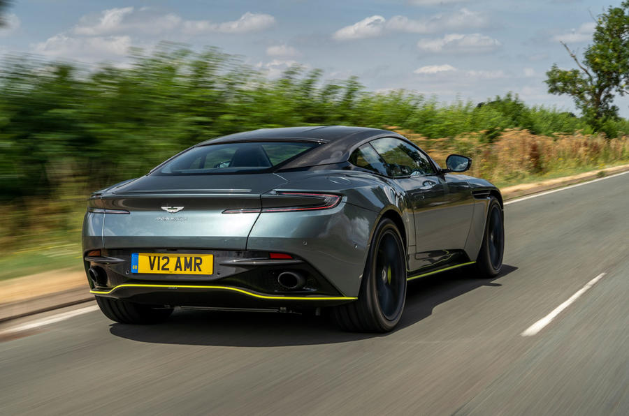 Aston Martin DB11 UK first drive rear