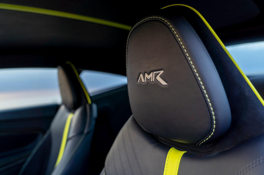 Aston Martin DB11 UK first drive seats
