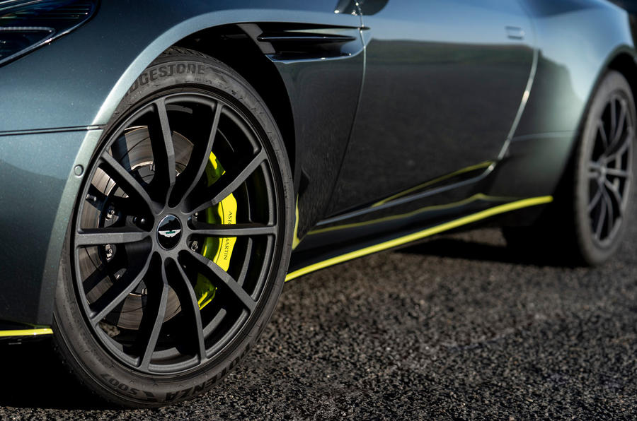 Aston Martin DB11 UK first drive wheels