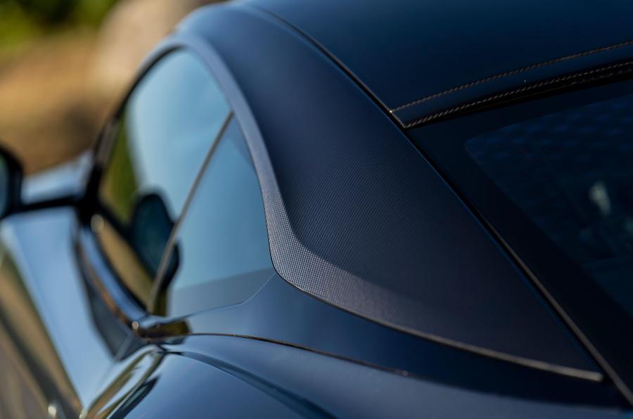 Aston Martin DB11 UK first drive roof line