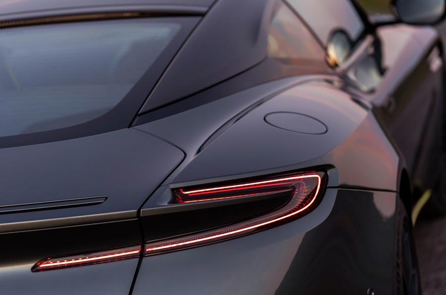 Aston Martin DB11 UK first drive rear close