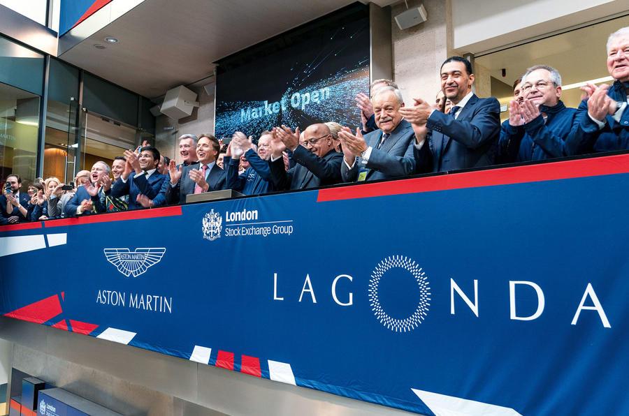 Aston Martin stock market