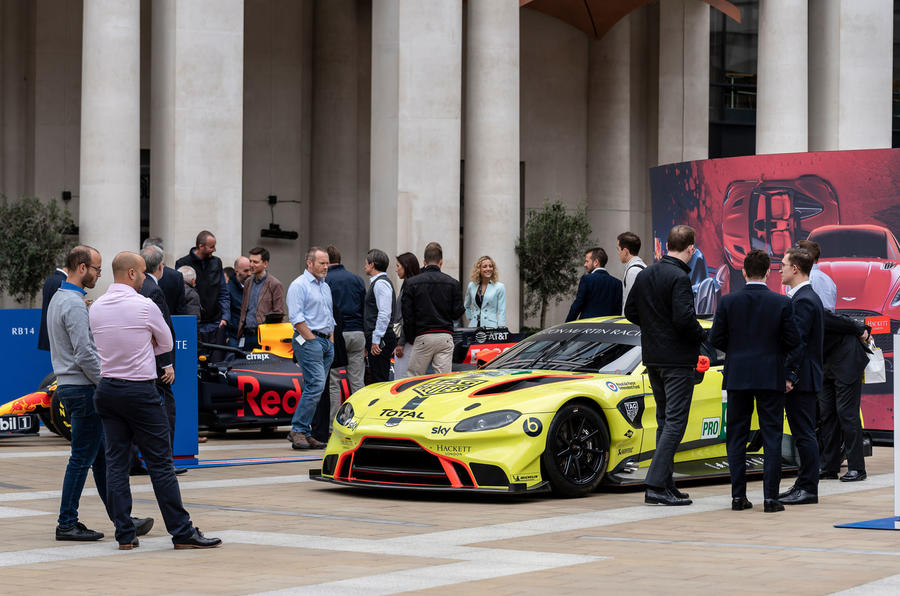 Aston Martin Stock >> On The Stock Market Floor With Aston Martin S Andy Palmer