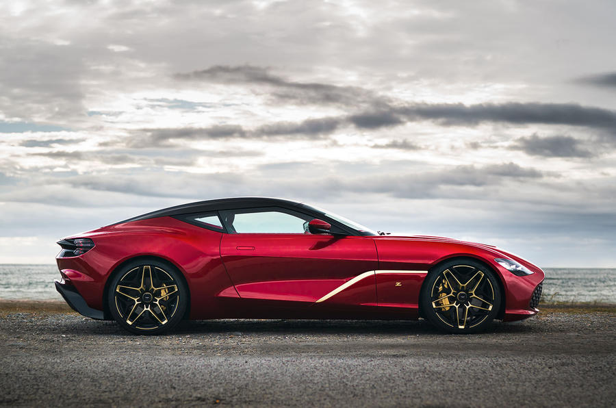 Aston Martin DBS GT Zagato revealed