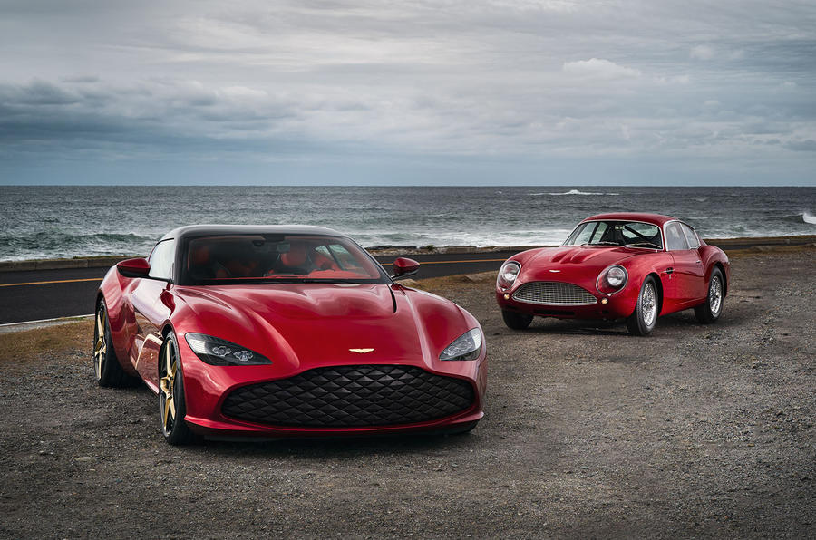 Aston Martin DBS GT Zagato breaks cover with 566 kW
