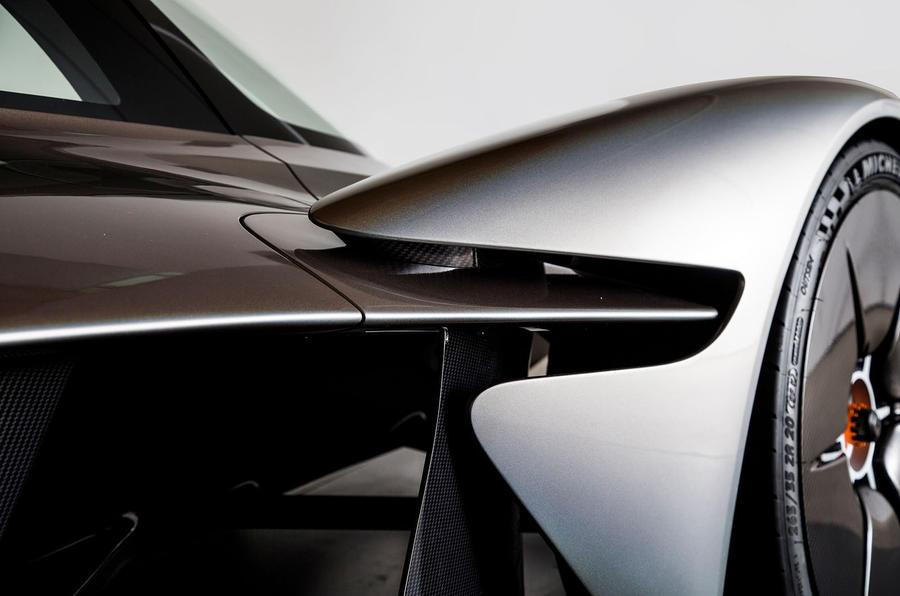 Aston Martin Valkyrie revealed in near-production form