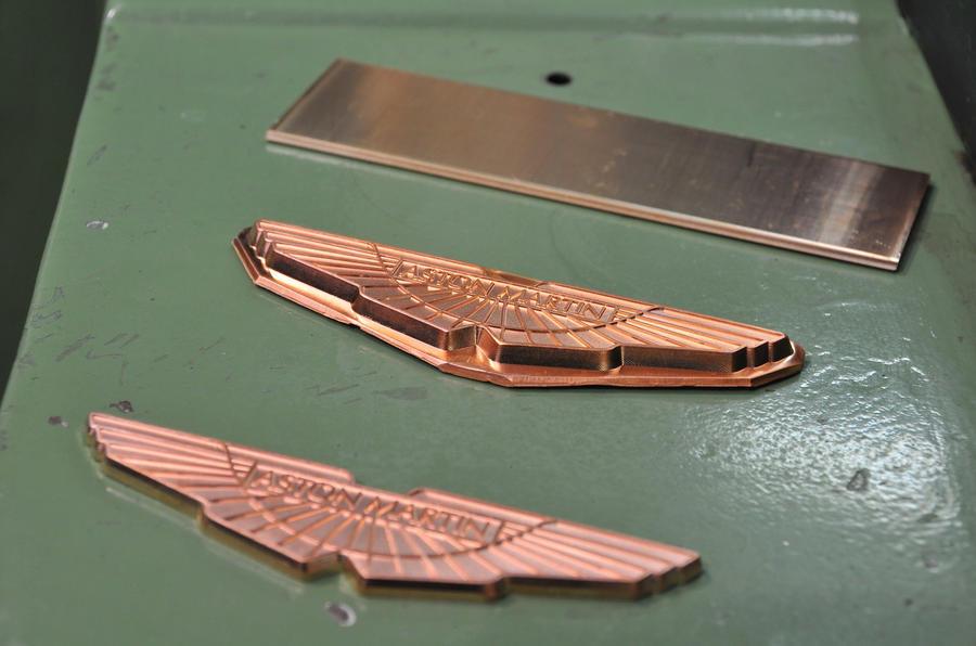 Aston Martin badges