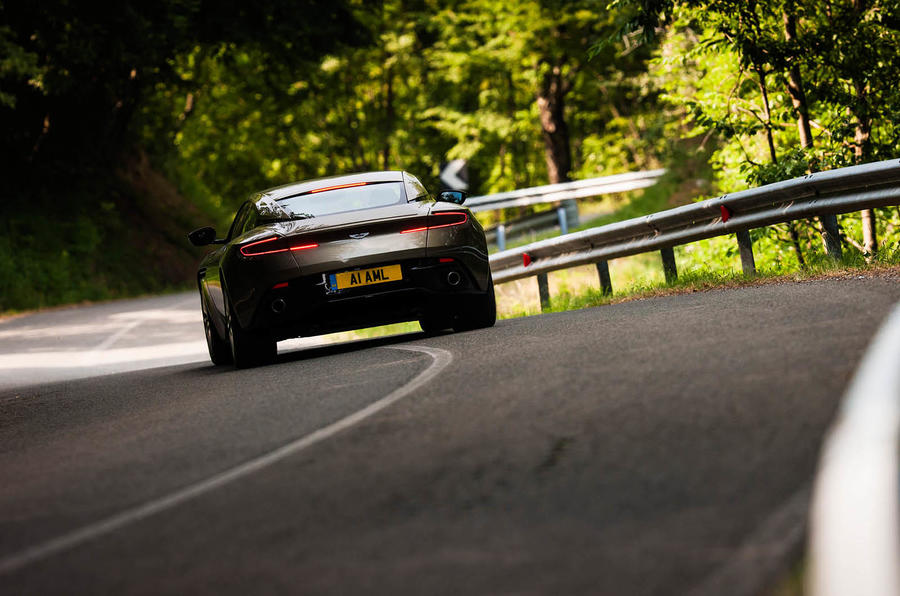 Aston Martin DB11 rear cornering
