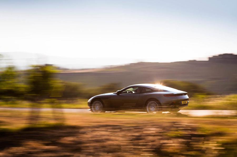 Aston Martin DB11 side profile