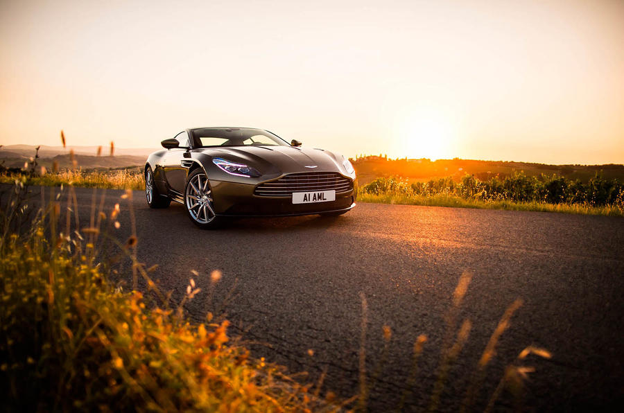 5 star Aston Martin DB11
