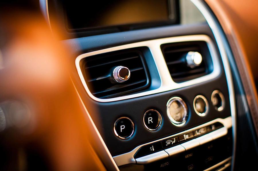 Aston Martin DB11 automatic gearbox