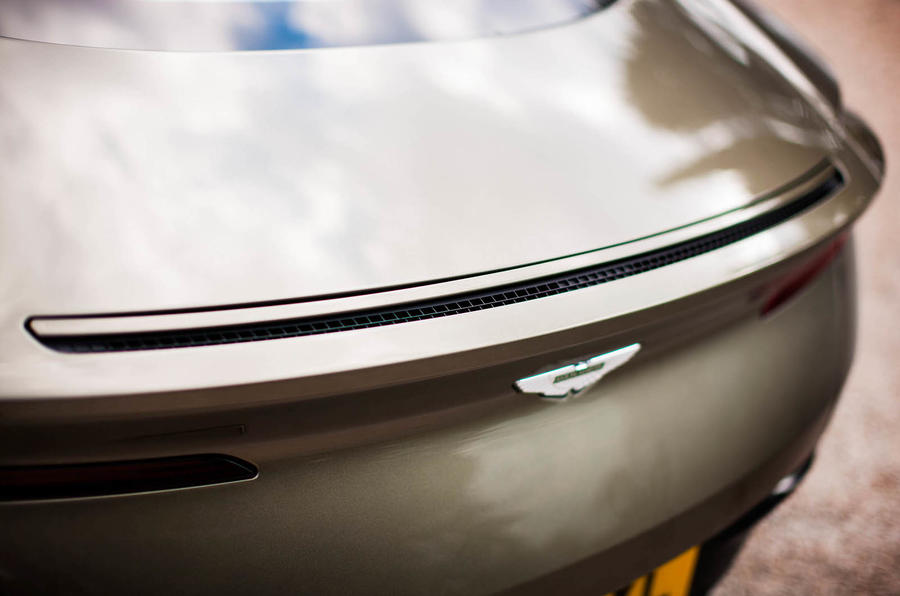 Aston Martin rear wing