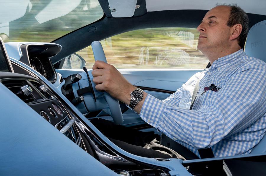Driving the Aston Martin DB11