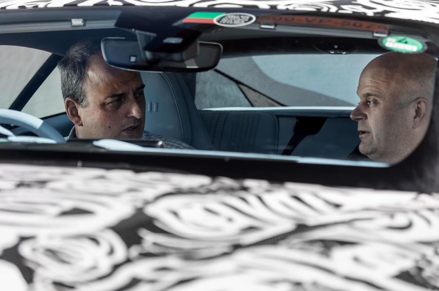 Discussing Aston Martin DB11