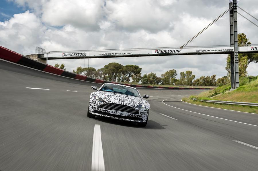 Aston Martin DB11 front view