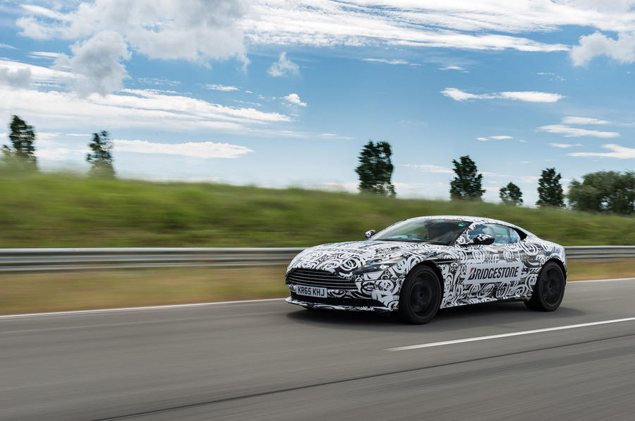 Aston Martin DB11 front end