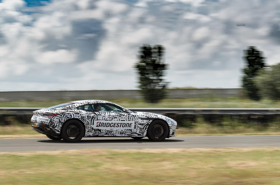 Aston Martin DB11 rear quarter