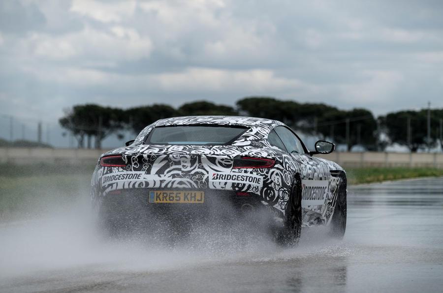 Aston Martin DB11 rear end