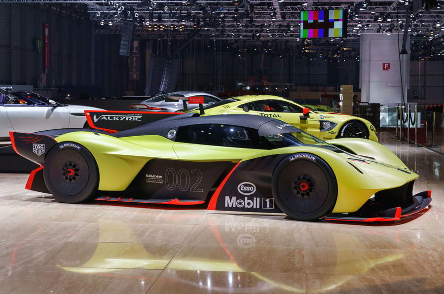 Aston Martin Valkyrie AMR Pro 1100bhp track car lands ...