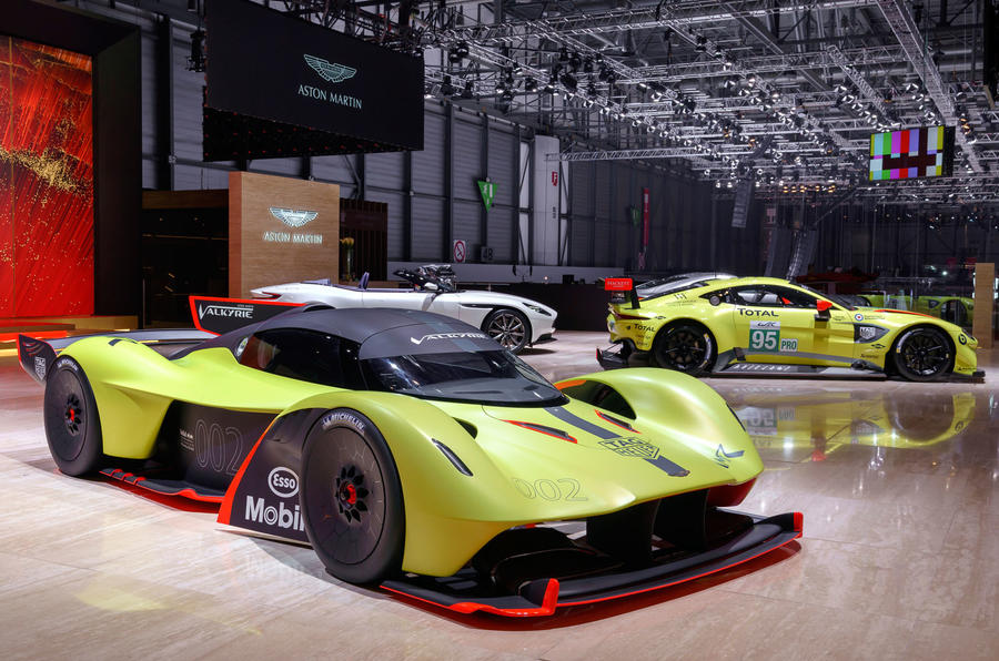 Geneva 2018: Track-tuned Aston Martin Valkyrie ready to dominate the circuit