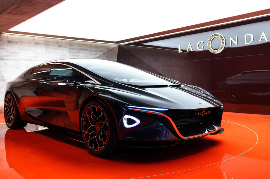 Aston Lagonda Vision Concept Previews Radical Electric Saloon